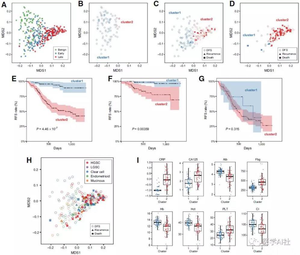 基于血液生物标志物的机器算法在上皮性卵巢癌术前诊断和预后预测中的应用