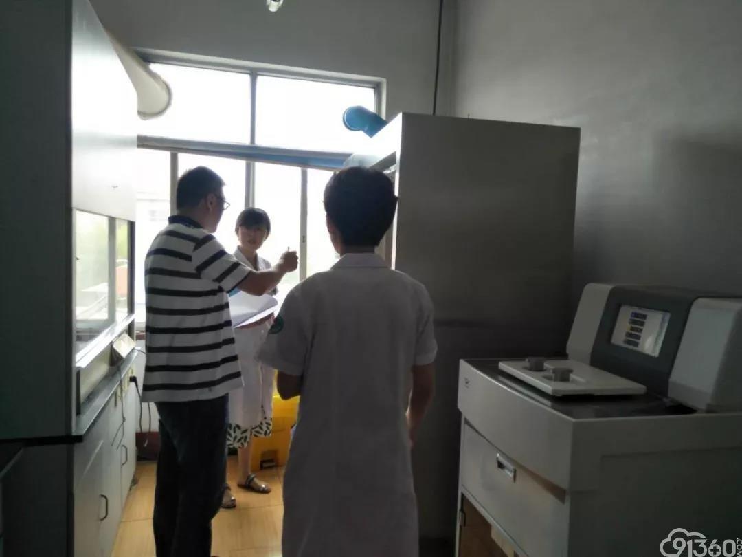 盛夏的一缕清凉——青岛病理质控中心莅临平度市第三人民医院进行2019年上半年病理检查工作