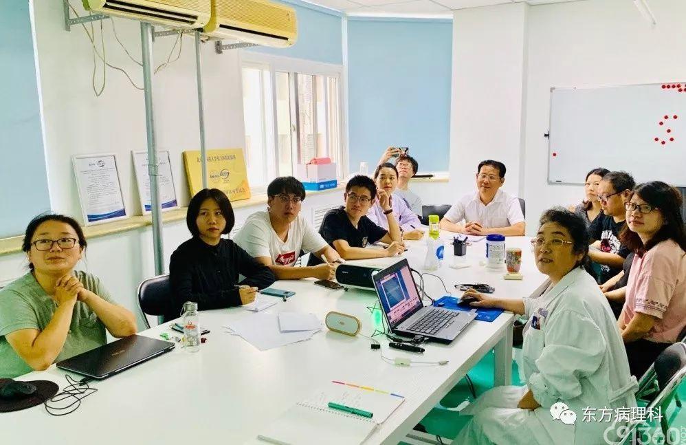 2019年8月12日,北京中医药大学东方医院病理科(简称病理科)技术人员上岗规范化培训顺利开课。参加培训的学员有病理科2019年新入职人员、实习生、轮岗人员等。