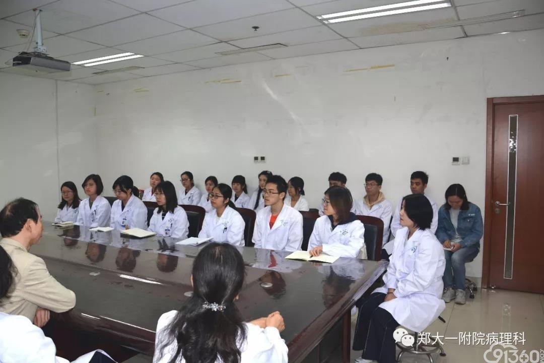 病理科举行2019年新入职人员岗前培训